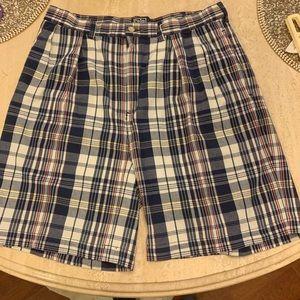 Ralph Lauren Polo Plaid Shorts Size 34